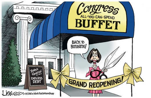 congress all you can spend buffett back to business todays special endless debt nancy pelosi