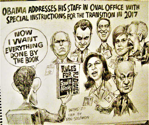 obama addresses staff want everything done by book rules for radicals