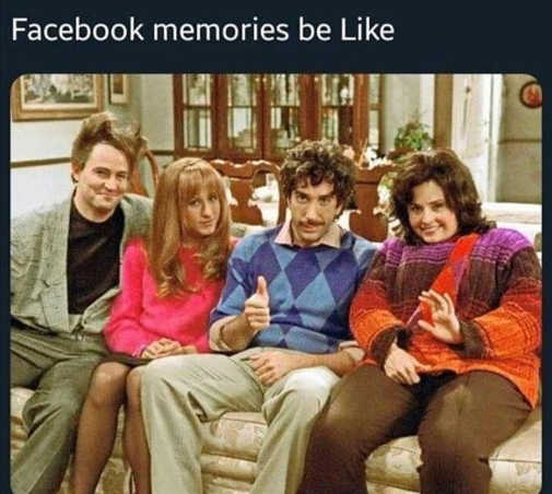 facebook memories like friends retro