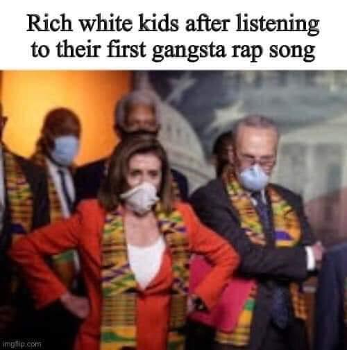 rich white kids after listening to their first gangsta rap song