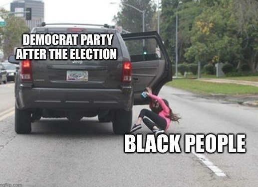 democrat party throwing out black people from car after election