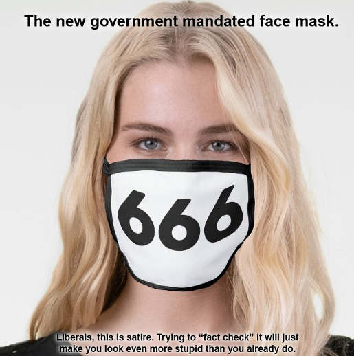 new government mandated face mask liberals satire fact check make you look stupid
