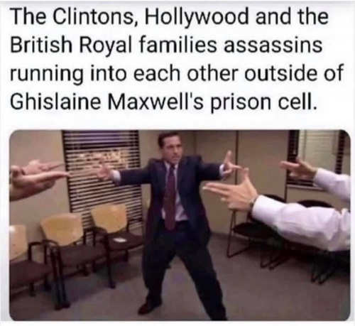 clintons hollywood british royal families outside maxwell prison cell reservoir dogs guns office