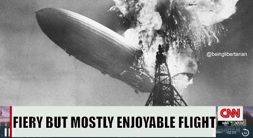 cnn hinderberg crash explosion fiery but mostly enjoyable flight
