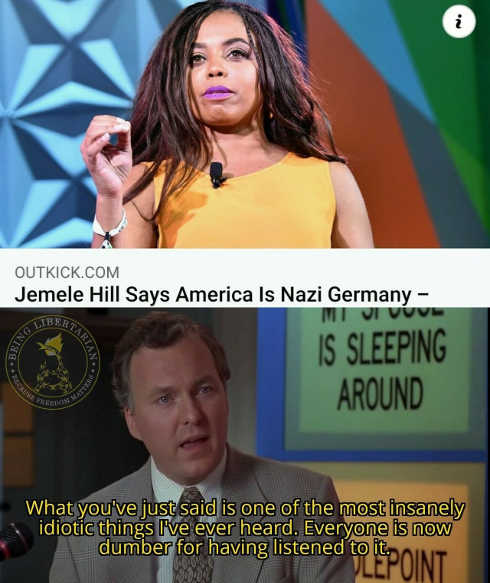 jemele hill says america is nazi germany idiotic everyone is dumber for having listened to it