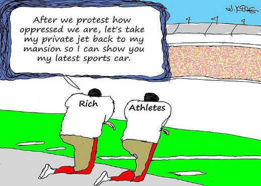 rich athletes after protest oppressed private jet back show new sports car