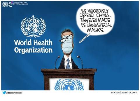 who world health organization wrongly defend china special masks
