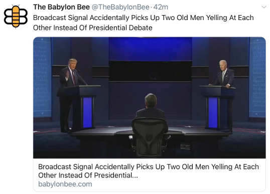 babylon bee broadcast signal accidentally picks up angry men yelling at each other