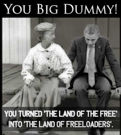 beverly hillbillies obama you big dummy turned land of free into land of freeloaders