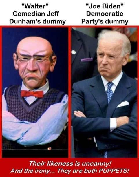 comparison walter jeff dunham dummy joe biden each is puppet