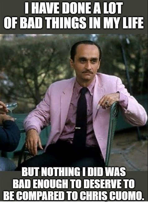 fredo corleone done many bad things but not enough to be compared to chris cuomo