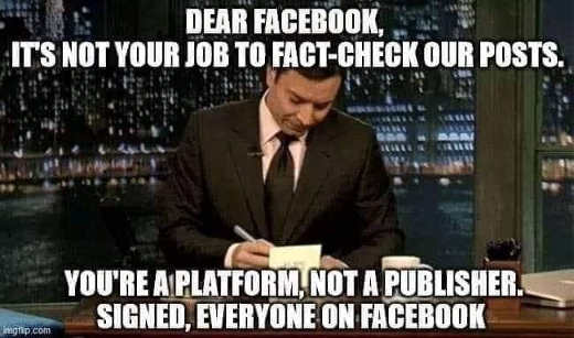 jimmy fallon dear facebook not job fact check posts platform not publisher signed everyone