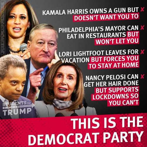 kamala harris philadephia mayor nancy pelosi hypocrisy this is your democrat party