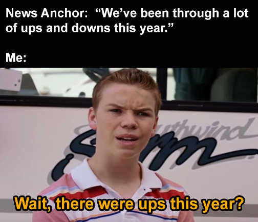 news anchor ups and downs this year me there were ups 2020