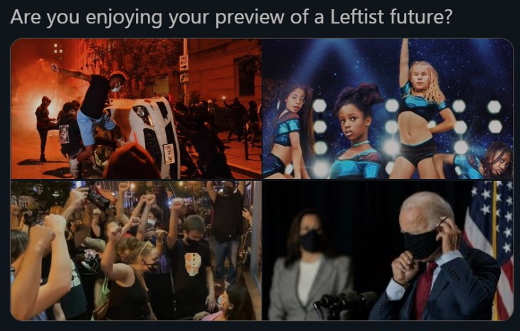 question are you enjoying preview of leftist rule riots cuties mask mandates