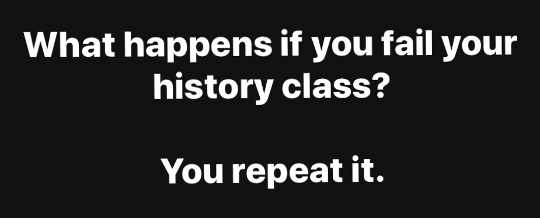 question what happens fail history class you repeat it
