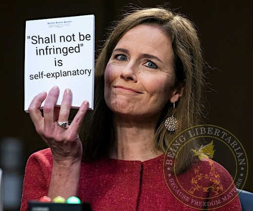 amy coney barret notepad shall not be infringed is self explanatory