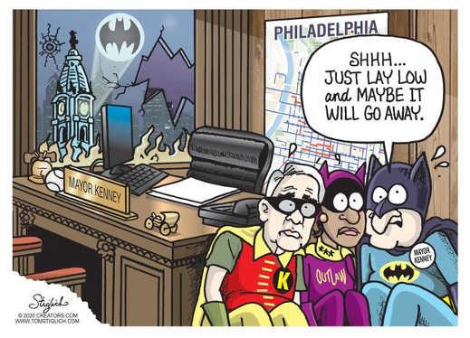 biden harris mayor kenney just lay low maybe philadelphia riots will go away