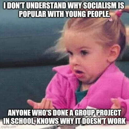 dont understand why socialism popular with young people anyone group project whos why it doesnt work