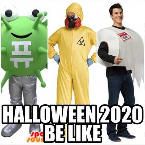 halloween 2020 hazmat coronavirus tp
