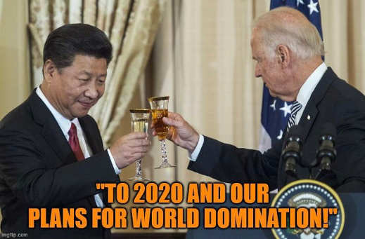 joe biden china to 2020 and our plans for world domination