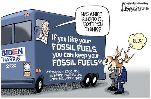 joe biden if you like your fossil fuels can keep yours democrats 2020