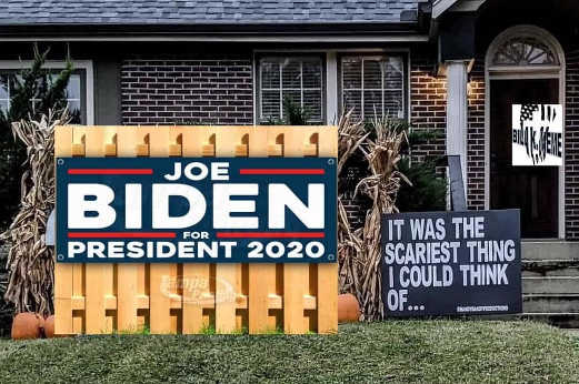 joe biden president 2020 halloween scariest thing i could think of