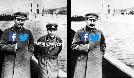 joe stalin twitter facebook pushing new york post off