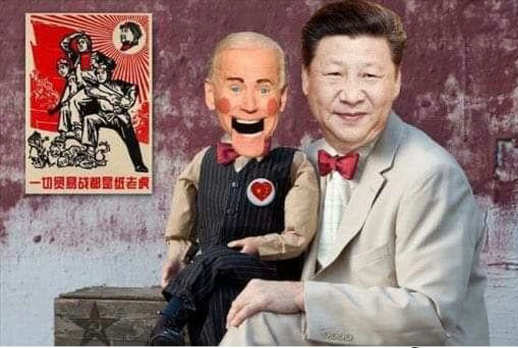joe biden chinese puppet ventriquist