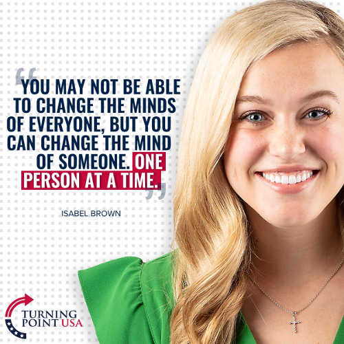 quote isabel brown may not change minds everyone one person at a time