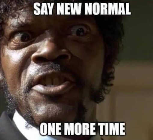 say new normal one more time samual jackson pulp fiction