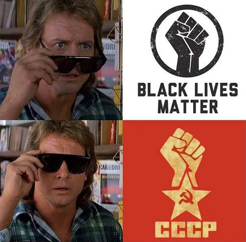 they live glasses black lives matter blm cccp