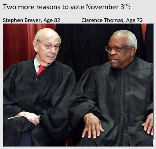 two more reasons to vote stephen breyer clarence thomas