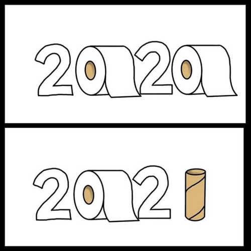 2020 2021 toilet paper rolls