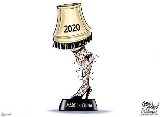 2020 christmas story lamp made in china