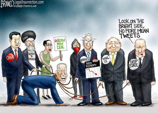 deep state china iran aoc bernie wall street control biden no more mean tweets