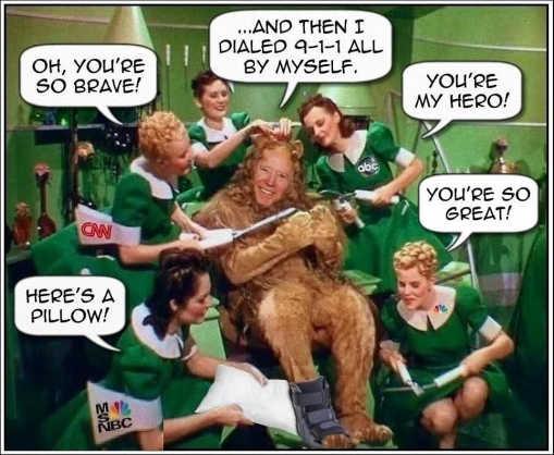 joe biden youre so brave cnn msnbc abc nbc cowardly lion