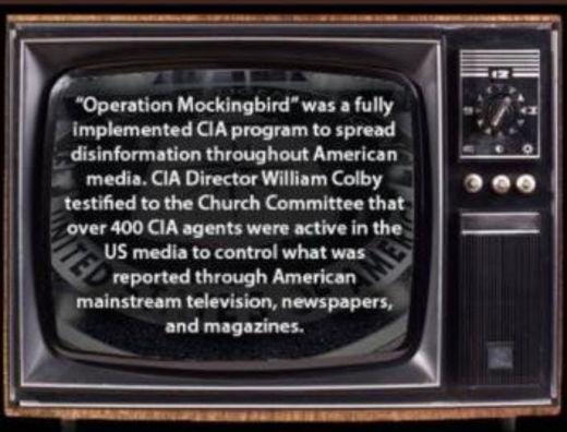 lesson operation mockingbird spread cia disinformation