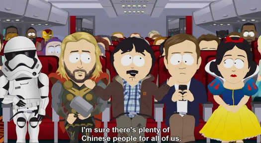 randy marsh plenty of chinese people for all of us star wars thor disney
