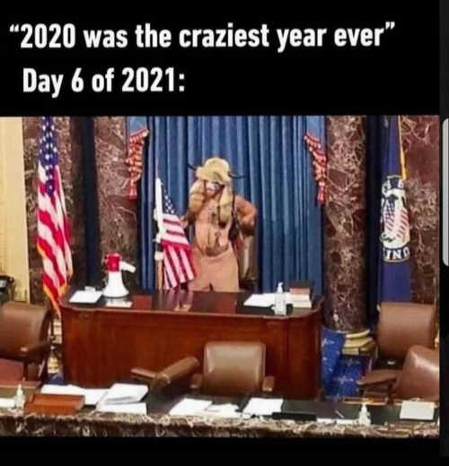 2020 was craziest year ever day 6 2021