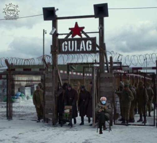 bernie sanders mittens gulag