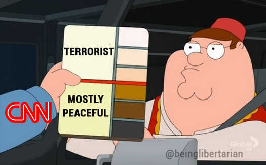 cnn terrorist mostly peaceful color of skin