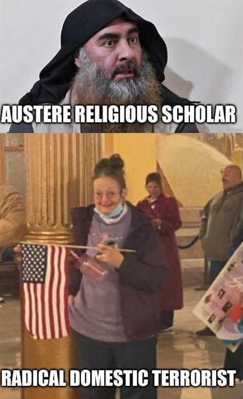 iran cleric austere religious scholar old woman domestic terrorist