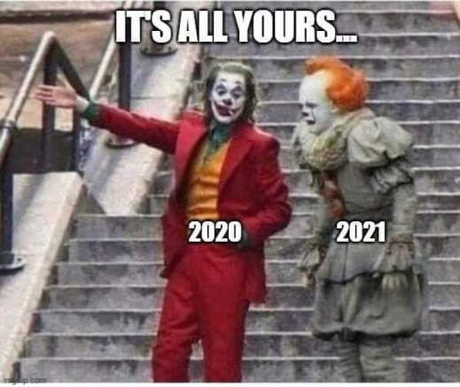 it joker clowns 2020 2021 its all yours