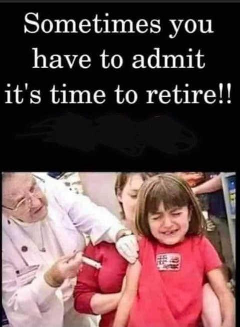 nurse shot boob sometimes admit time to retire