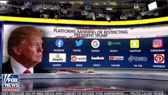 tech censoring trump reddit youtube google apple facebook twitter instagram