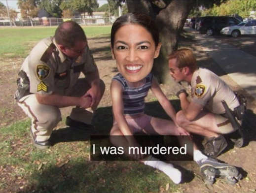 aoc i was murdered cops