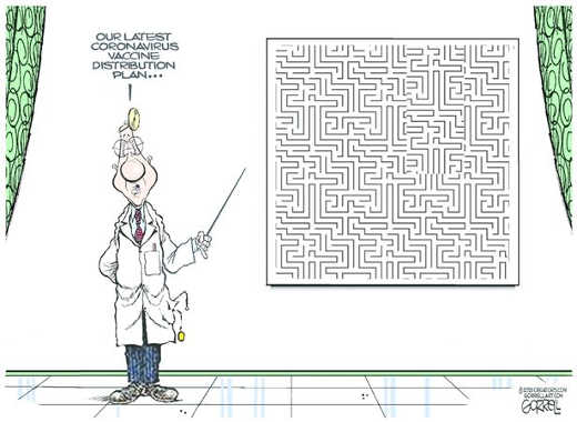 cdc doctor latest coronavirus vaccine distribution plan maze