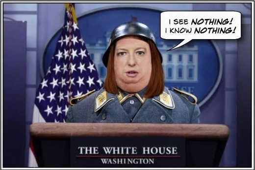 joe biden press secretary see nothing know nothing hogans heroes