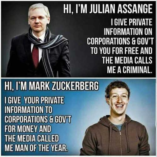 julian assange info government corporations zuckerberg privacy you money man of year